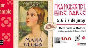Cartel anunciador de esta edición especial de la Fira Modernista.