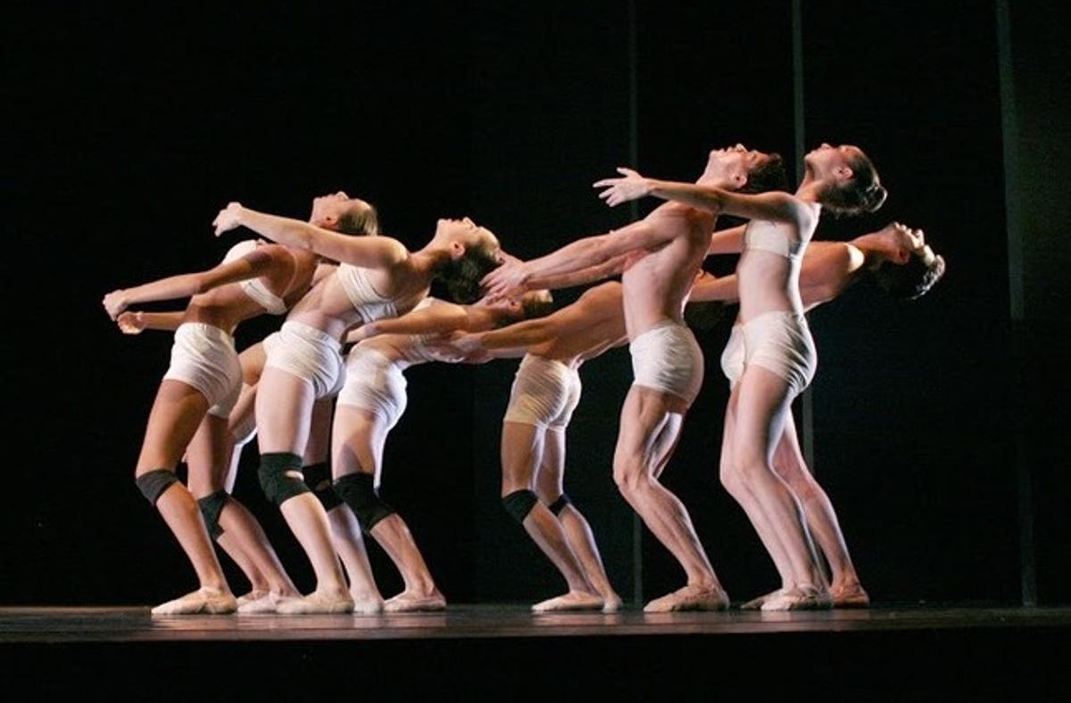 Bailarines del BCN City Ballet.