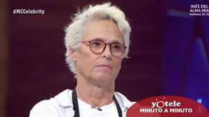 Lucía Dominguín, expulsada de nuevo en 'Masterchef Celebrity 5'.