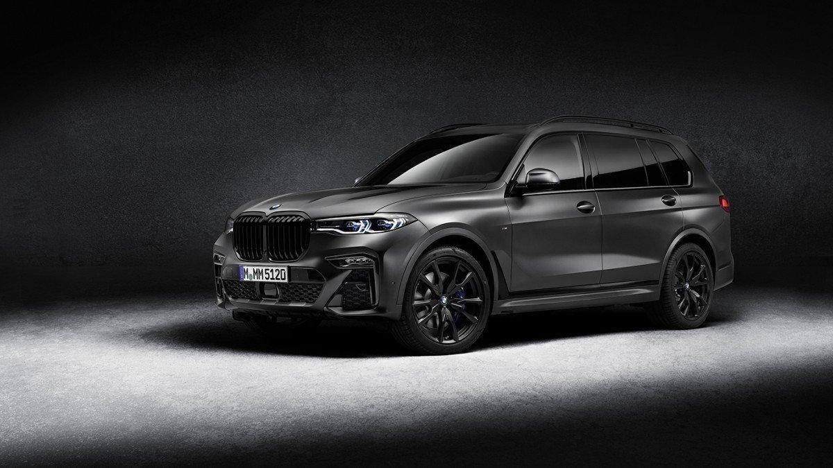 BMW crea l'exclusiva Dark Shadow Edition per a l'X7