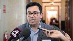 Gerardo Pisarello, en los pasillos del Congreso, el pasado marzo.