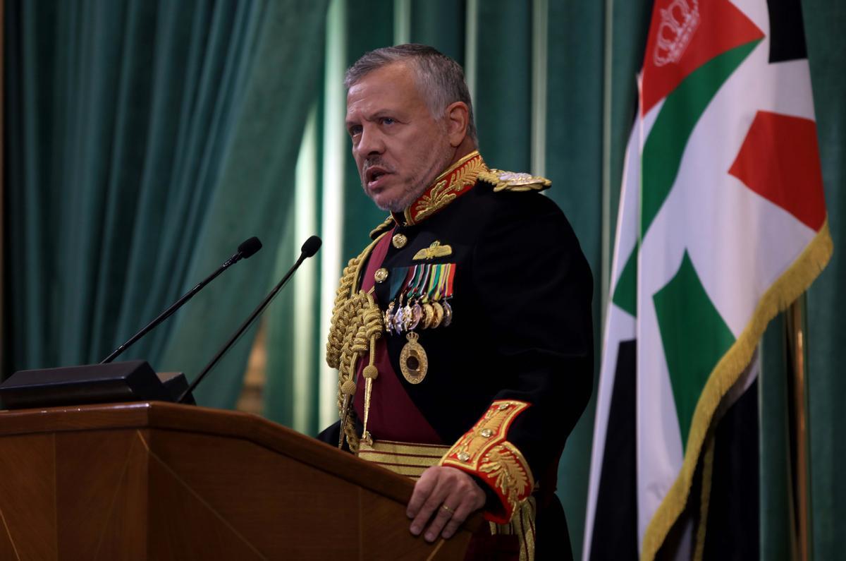 El rey Abdalá II de Jordania.