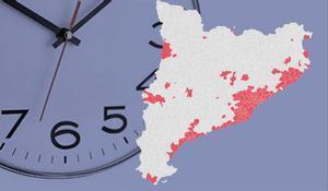 Catalunya amplía a 165 los municipios con toque de queda