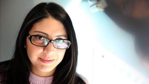 La escritora ecuatoriana Mónica Ojeda.
