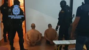 Detenido en Málaga un sicario de Ceuta miembro de una organización criminal.