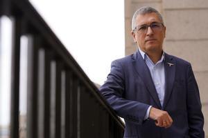 Entrevista a Hugo Morán , secretario de Estado de Medio Ambiente. imagen DAVID CASTRO