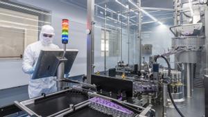Laboratorios de Hipra, donde se está haciendo la vacuna española contra el COVID