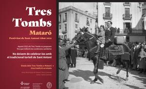 Mataró celebrarà els Tres Tombs en dues fases, sense data encara per al tradicional passeig de carruatges