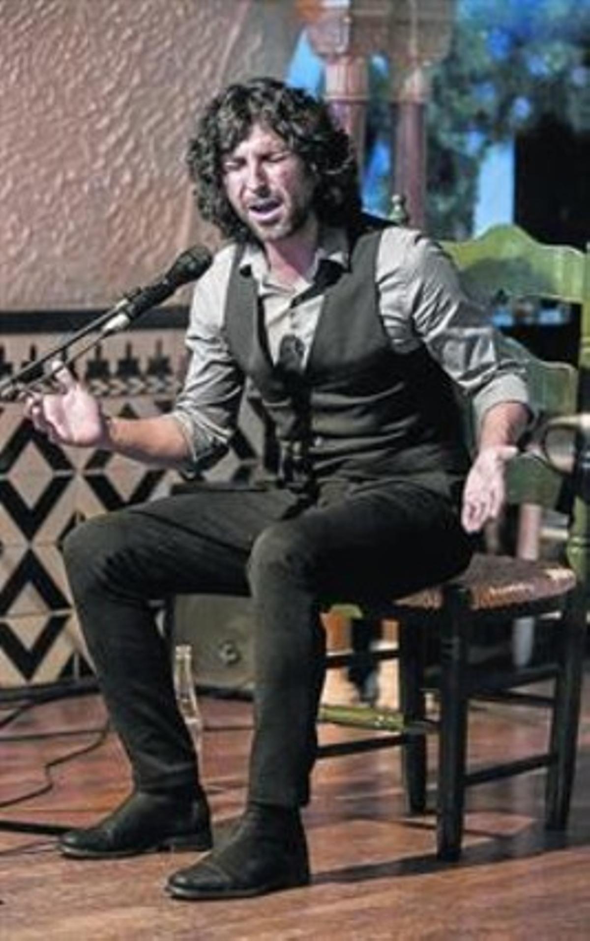 Francisco José Arcángel Ramos en el Tablao Flamenco Cordobés.