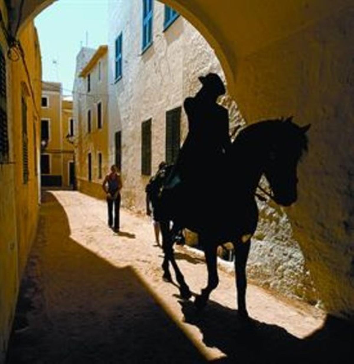 Una imagen de Ciutadella, donde perdura el recuerdo del asalto turco.