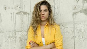 La 'extriunfita' Miriam Rodríguez, caracterizada como reclusa en la serie de Fox 'Vis a vis'.