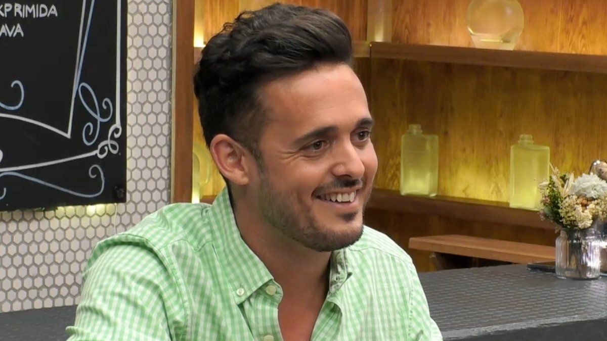José Antonio en 'First Dates'.