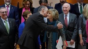 María Luisa Carcerdo, Ministra de Sanidad, durante el consejo interterritorial de este jueves