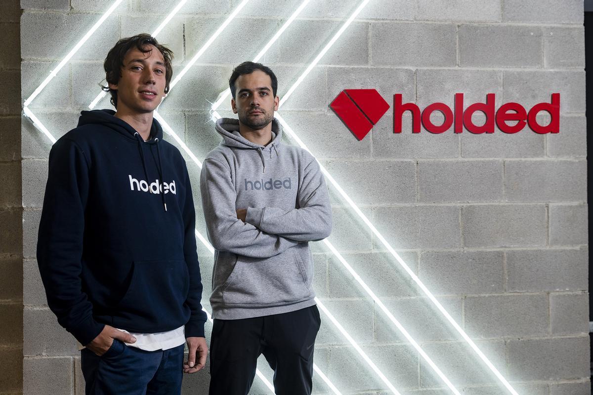 De izquierdaa derecha, Javi Fondevila y Bernat Ripoll, cofundadores de Holded