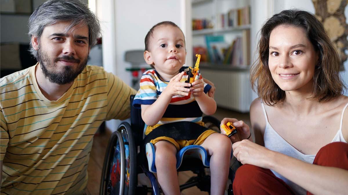 Gael, un niño con una enfermedad que se puede tratar con la inyección más cara del mundo.