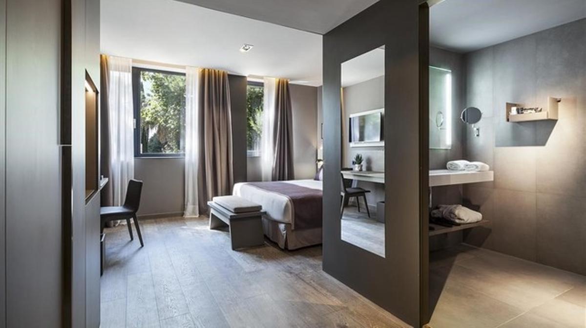Aspecto de una de las futuras habitaciones del Upper de Acta Hotels.