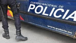 Una patrullade la Policía Nacional.