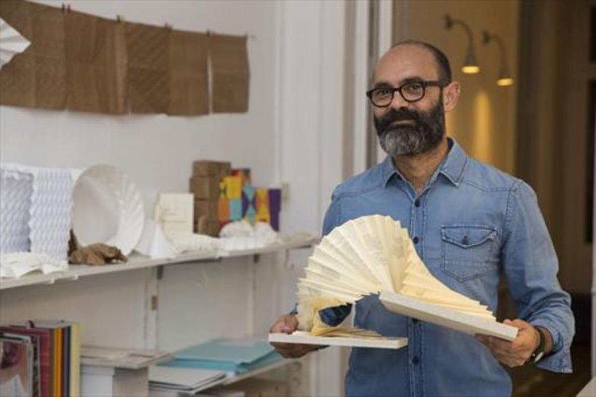 Dario Zeruto: «Cuando conocí el libro objeto, se cerró un cuadrado»