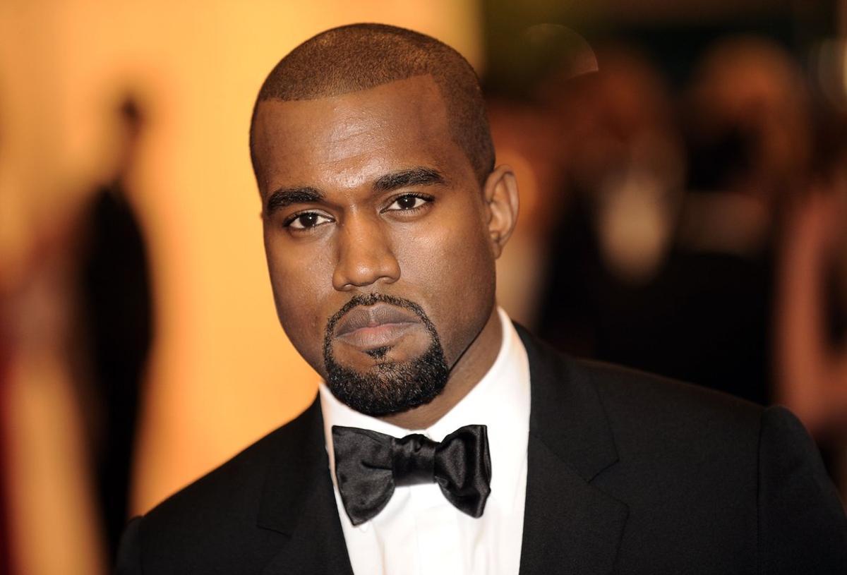 El artista estadounidense Kanye West.