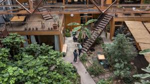 Nest City Lab: un oasis sostenible en el Poblenou.