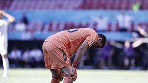 Unai Simón «M'he martiritzat una mica, he vist el gol sis o set vegades»
