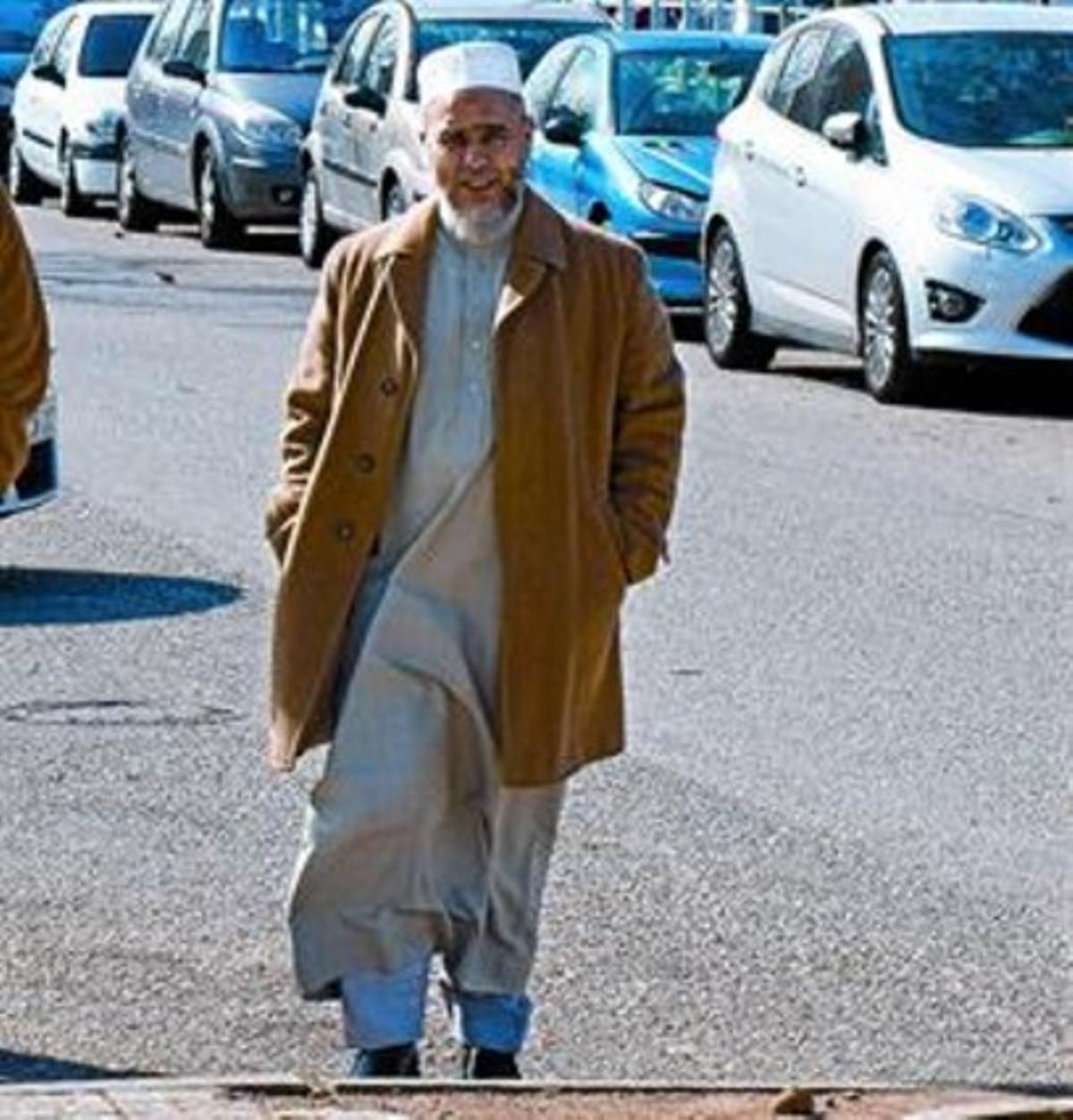 El imán Abdeslam Laaroussi, el pasado 6 de marzo en Terrassa.