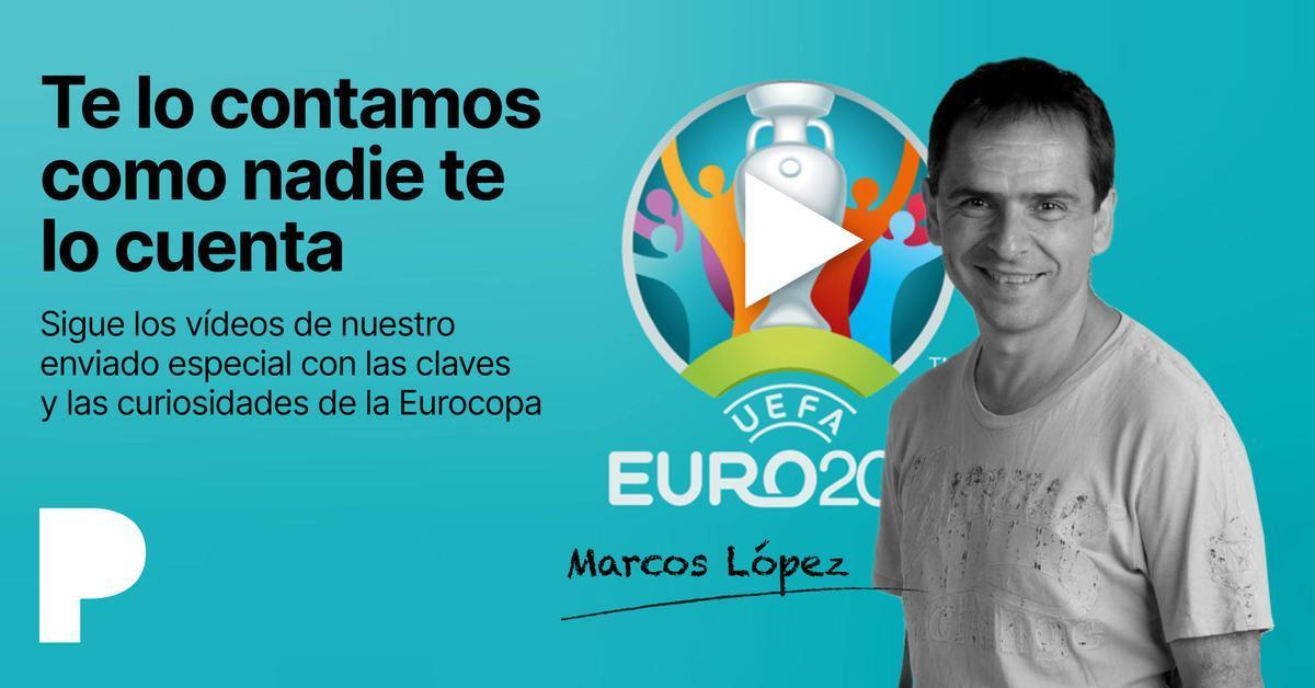 Videocomentarios de Marcos López sobre la Eurocopa.