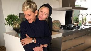 Ellen Degeneres y Portia de Rossi.