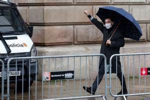 El Govern manté la seva acusació d'atemptat a l'autoritat contra un manifestant independentista
