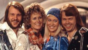 Una imagen de archivo del cuarteto sueco Abba.