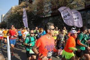 Corredores del Maratón de Barcelona 2017