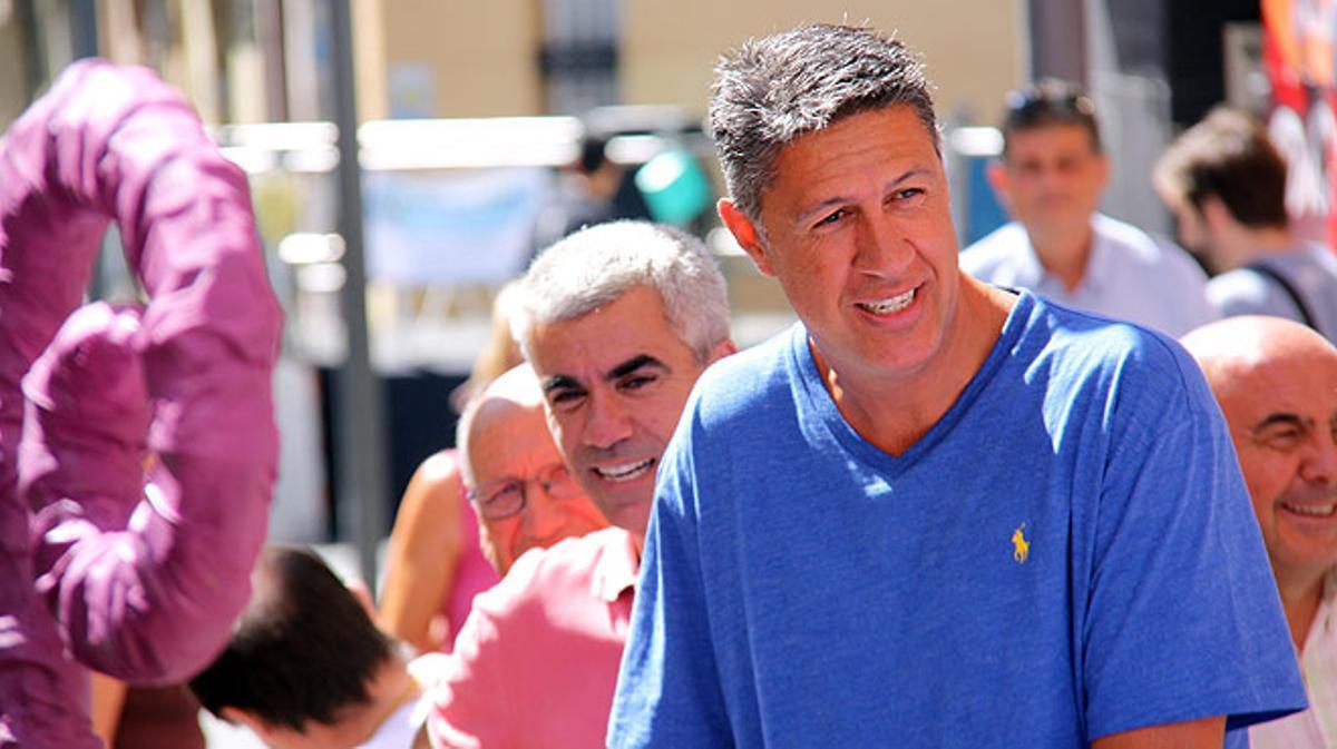 El presidente del grupo parlamentario popular, Xavier García Albiol, asegura que impugnará los presupuestos ante la justicia si incluyen partidas destinadas al independentismo o a la convocatoria de un referéndum.