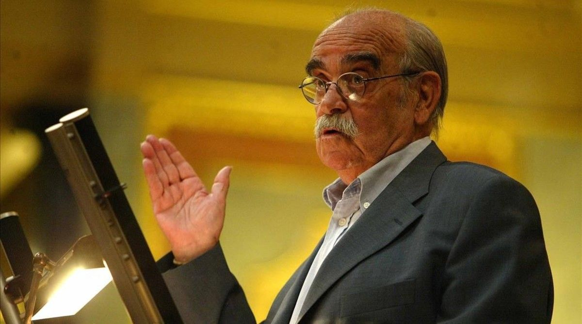 Garzón sostiene que el Congreso vetó un minuto de silencio por Labordeta
