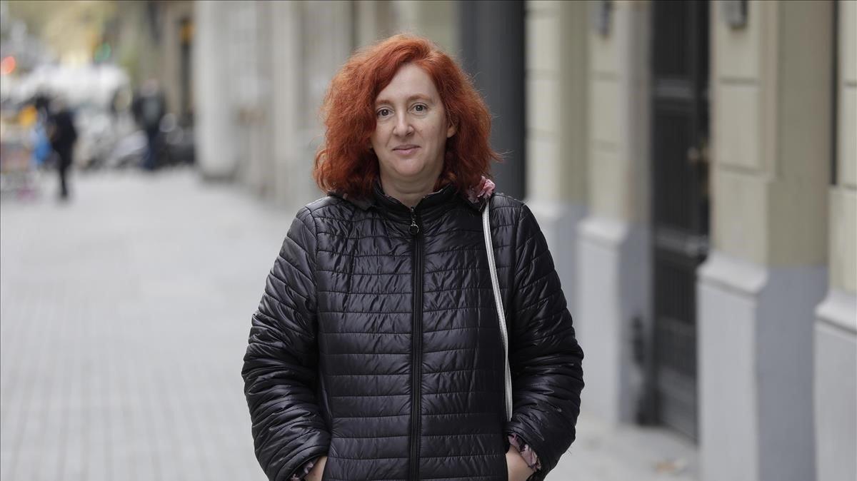 Rosa García, afectada por un trastorno de salud mental.