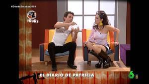 Paco León y Yolanda Ramos, parodiando.