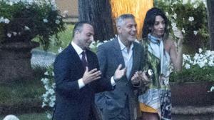 Clooney es recupera miraculosament de l'accident de moto