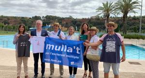 Sabadell s'adhereix a la campanya 'Mulla't per l'esclerosi múltiple'