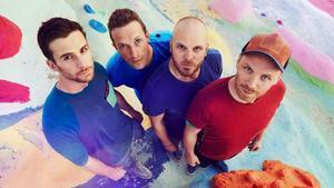 Coldplay, en una imagen promocional, con Chris Martin segundo por la izquierda.