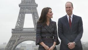 Los Duques de Cambridge en Paris