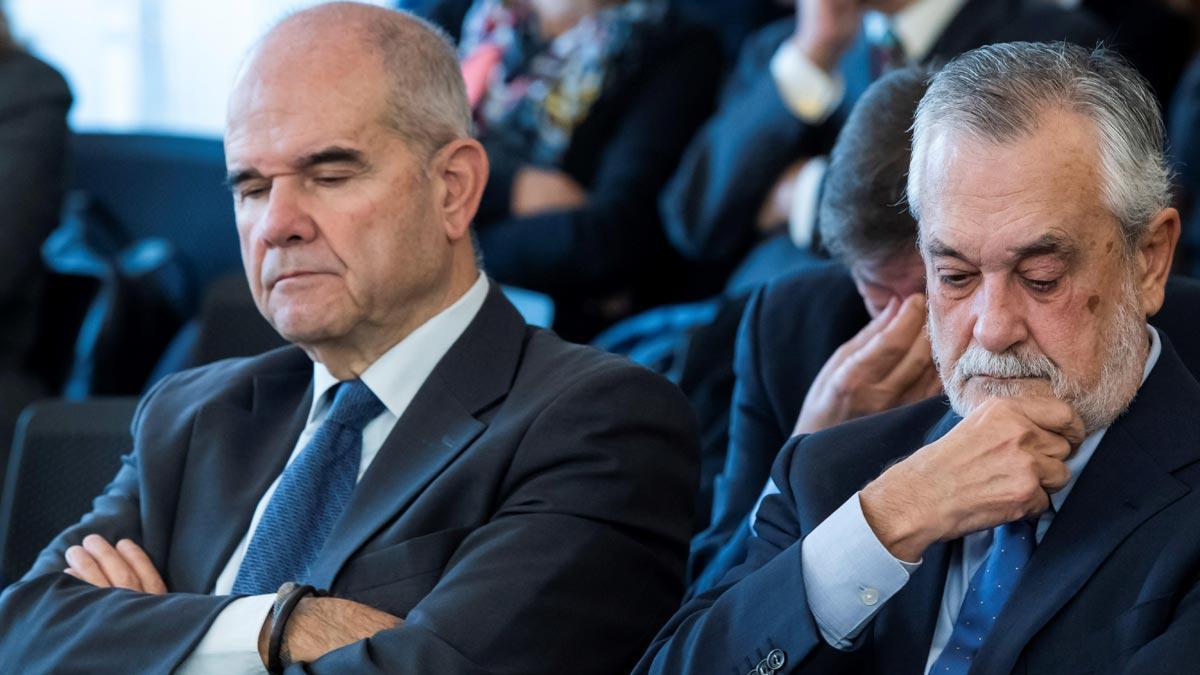 Condemna a una dècada de corrupció del PSOE a Andalusia