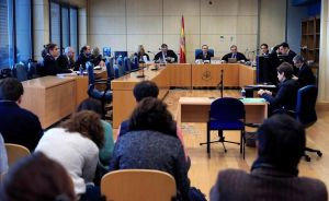 Vista de apelación de la sentencia del 'caso Alsasua' en la Audiencia Nacional.