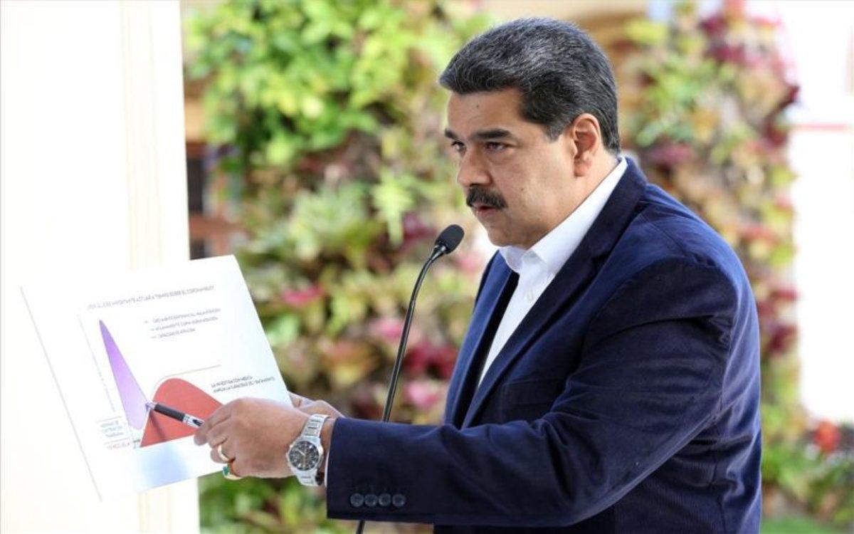 Nicolás Maduro, habla sobre el coronavirus en Veenzuela.