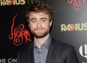Daniel Radcliffe, en la 'premiere' en Nueva York de 'Horns'.