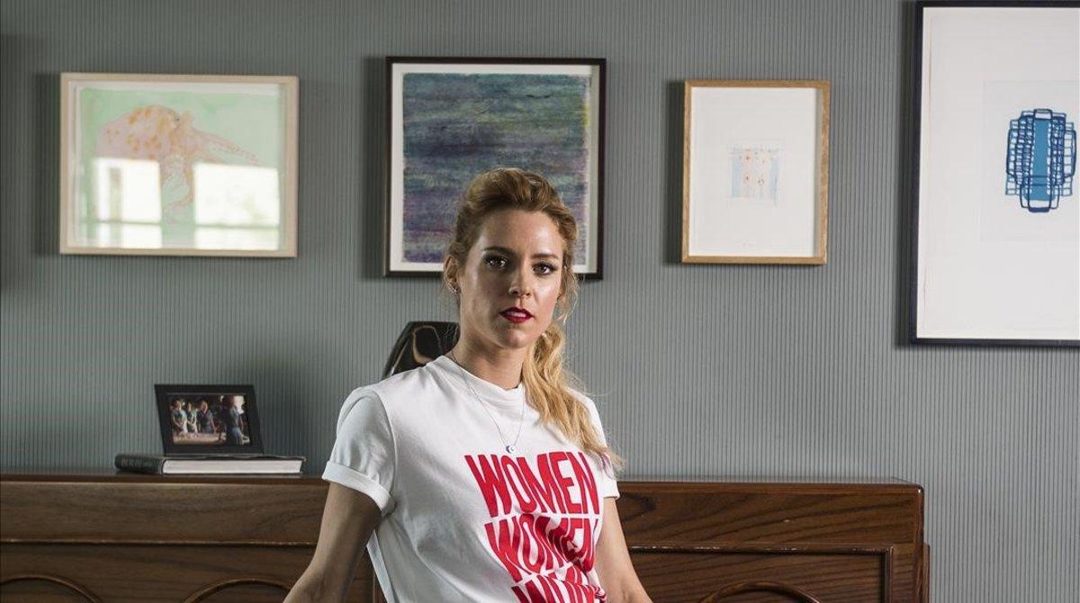 La actrizMaggie Civantos.