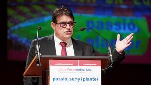 Fernández Alà: Si soy presidente habrá público en el Camp Nou en marzo.