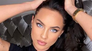 La modelo Kasia Lenhardt, de 25 años, en una imagen de su Instagram.