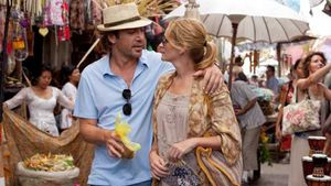 Javier Bardem y Julia Roberts, protagonistas de 'Come, reza, ama'.