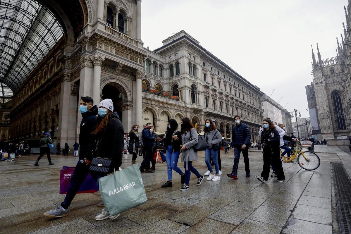 Itàlia comença el seu confinament per Nadal