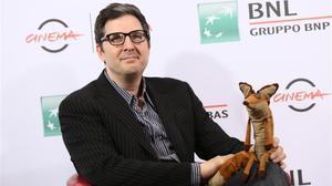 El cineastaMark Osborne, que dirige la versión animada de 'El principito', en Roma, el pasado octubre.