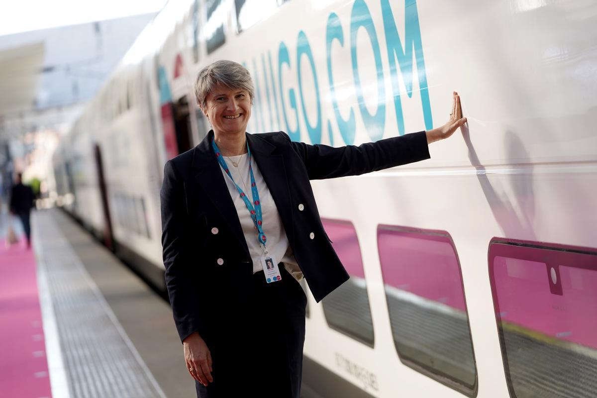 Hélène Valenzuela directora general de Ouigo España.